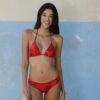 Downtown Bikini Italian Red